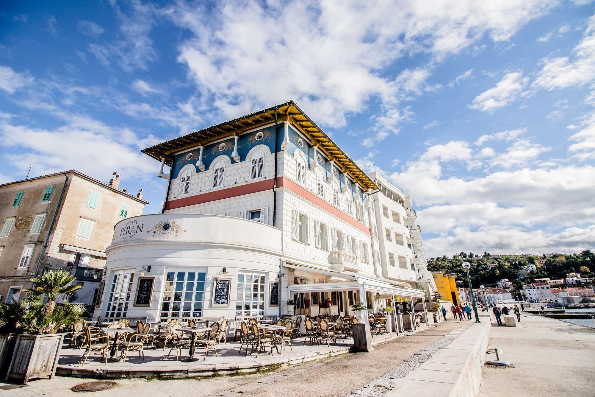 Hotel Ramah untuk Pejalan Kaki di Kota Piran