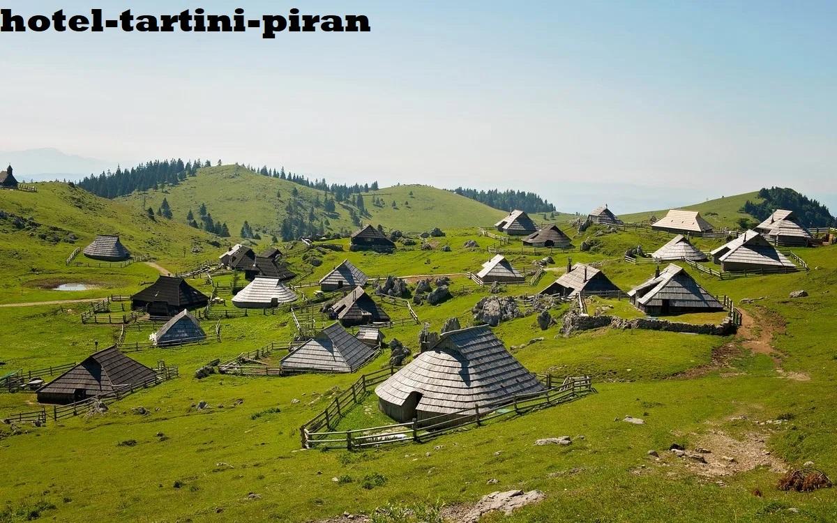 Velika Planina Pemukiman Yang Berada Di Dataran Tinggi Pada Kawasan Carniola Hulu Slovenia