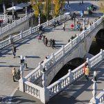 Tromostovje Wisata Spot Foto Terpopuler di Ljubljana Slovenia